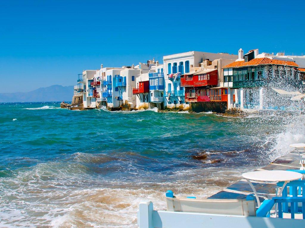 Little Venice Mykanos Greece