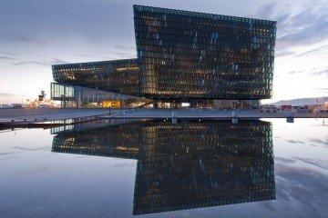 Iceland_Harpa Concert Hall and Conference Centre in Reykjavik