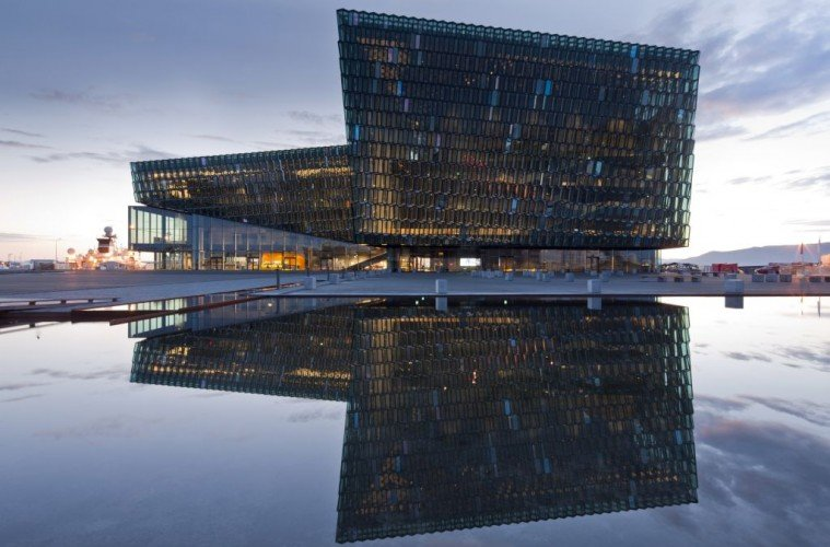 Iceland_Harpa Concert Hall and Conference Centre in Reykjavik