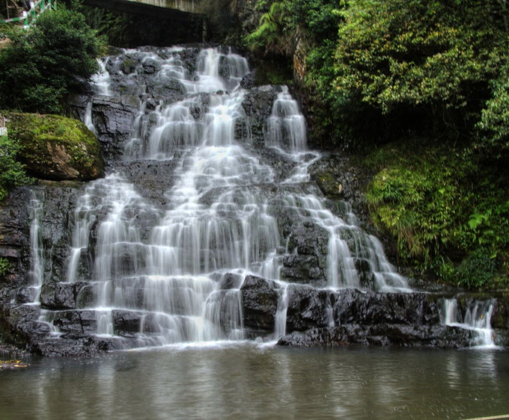 Shillong, India waterfall