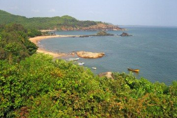 Om Beach in Gokarna India