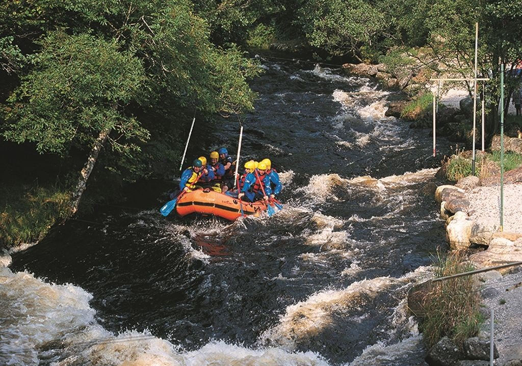 Wales Travel: River Tryweryn Rafting. © Crown copyright (2014) Visit Wales