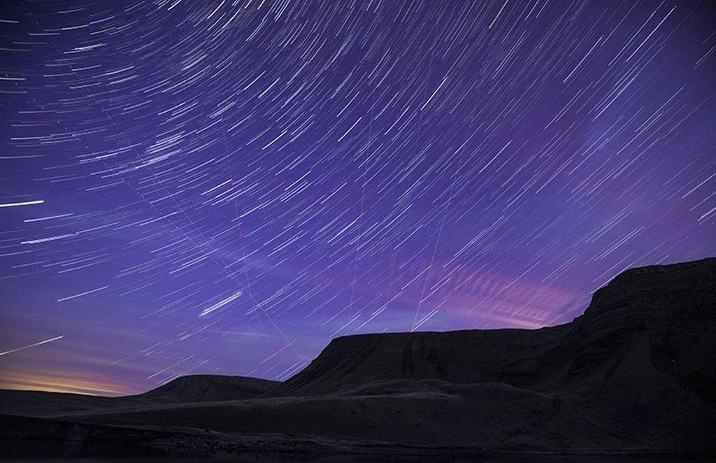 Wales Travel: Dark skies, Black Mountain Brecon Beacons Carmarthenshire Dark Skies South. © Crown copyright (2014) Visit Wales