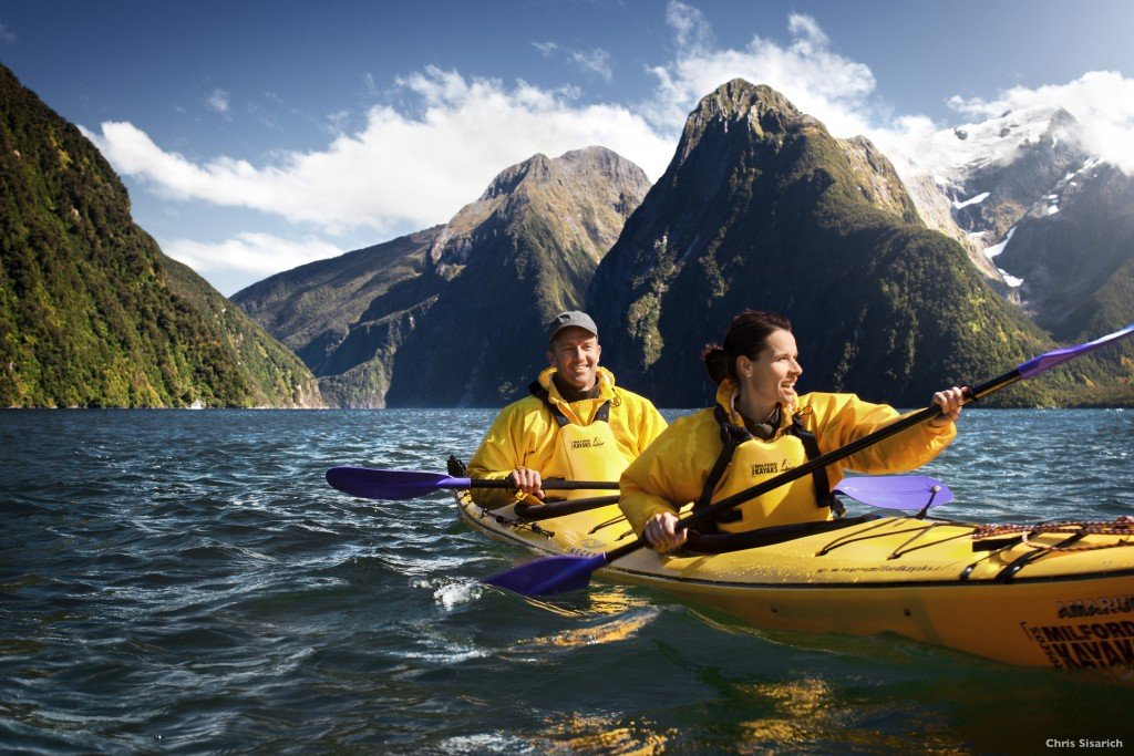 New Zealand adventure: kayaking