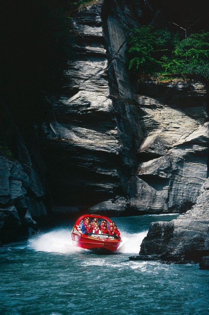 New Zealand adventure Shotover River. Photo: Shotover-Jet/ visuals.newzealand.com