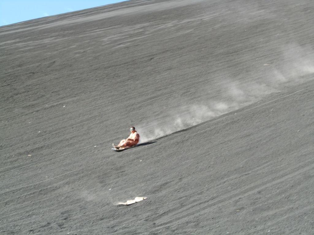 Nicaragua-Cerro Negro- Volcano boarding- Blue Sonicboy by CC by SA 2.0 via Flickr - 1024 x 768