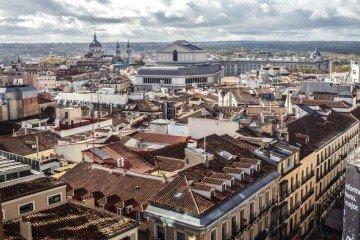 The Madrid Skyline