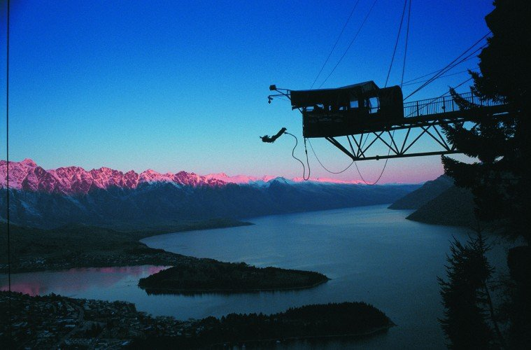 New Zealand Adventure: The Ledge-Queenstown-AJ-Hackett-Bungy