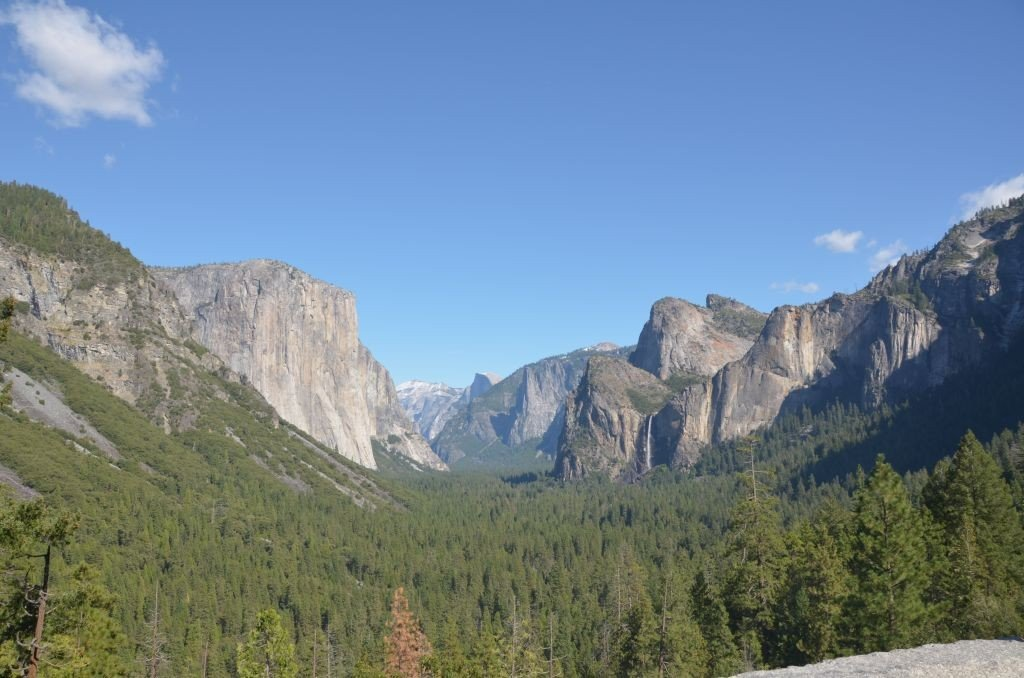 Yosemite Tunnel View. Photo: Mitali Mahajani
