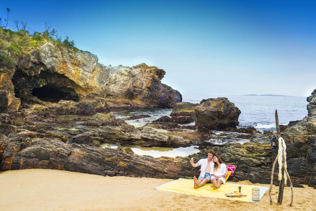 Australia-Camping-Mystery Bay Eurobodalla beach picnic - 1024 x 683