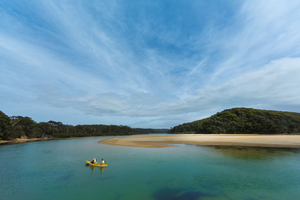 Australia-Camping-Nelson Lagoon, Mimosa Rocks National Park, D Finnegan,OEH - 1024 x 683