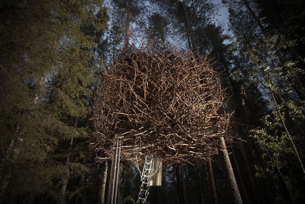 Swedish Treehotel-birds_nest_exterior_2 - 1024 x 683