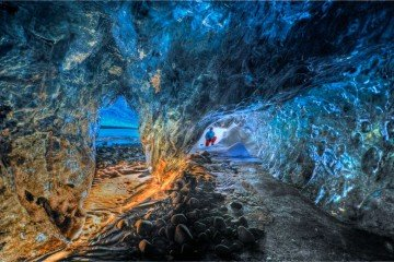 Iceland travel: Ice cave