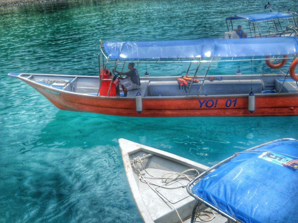 Malaysia Tioman island boats Park Yuzz