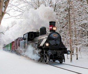 Denmark Vintage train