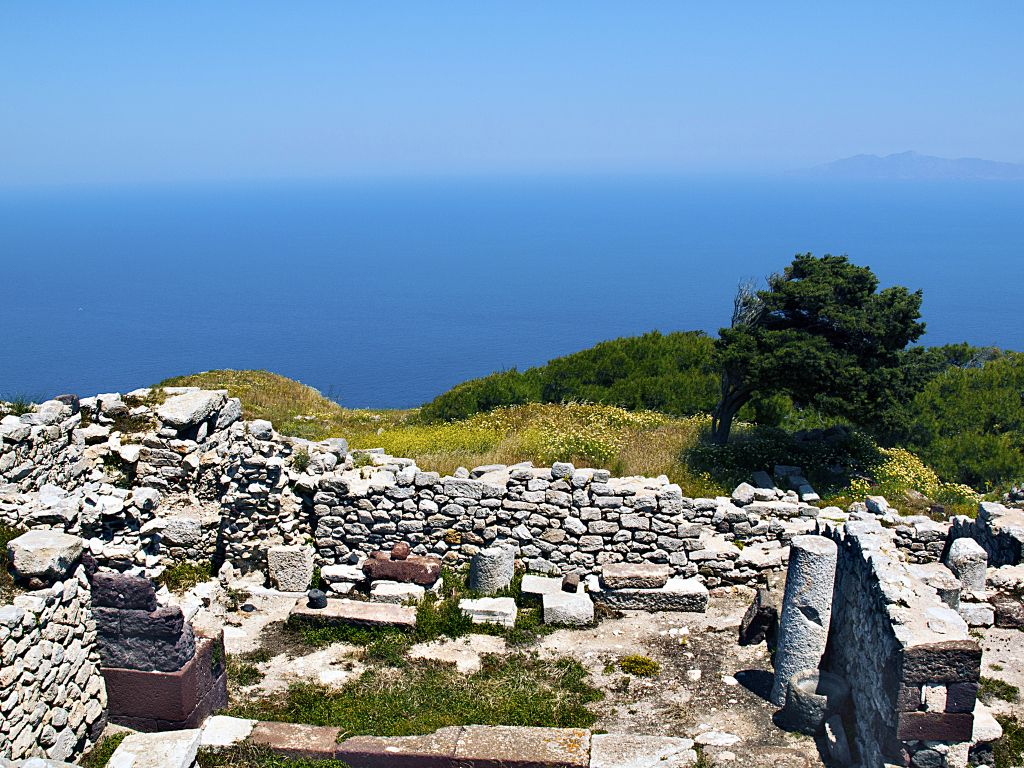 Ruins of Ancient Thira, Santorini-Kevin Poh-CC2.0 via Flickr