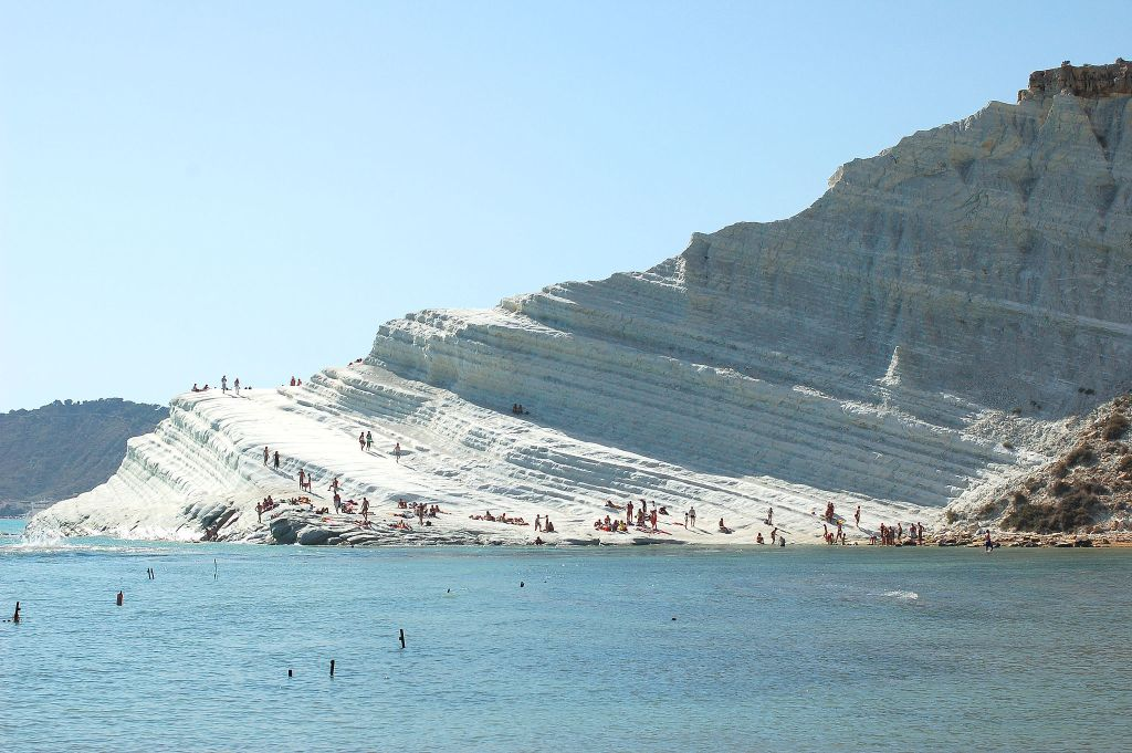 Sicily-Scala dei Turchi-By Vegafi via Wikimedia Commons