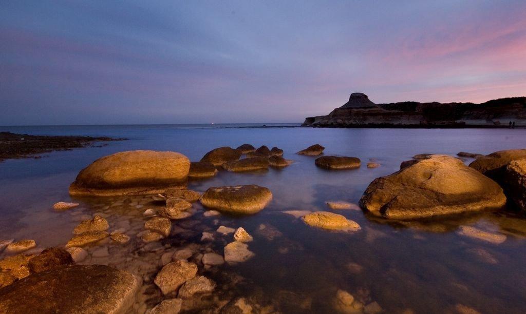 Malta- Gozo - Qbajjar, Marsalforn