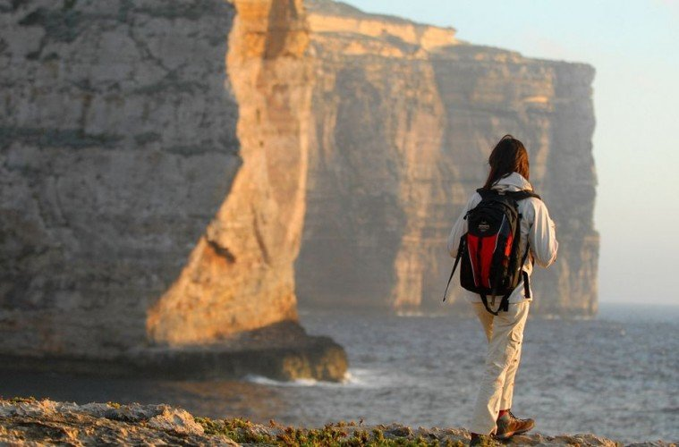 Malta- hiking- rambling cliffs adventure vacation