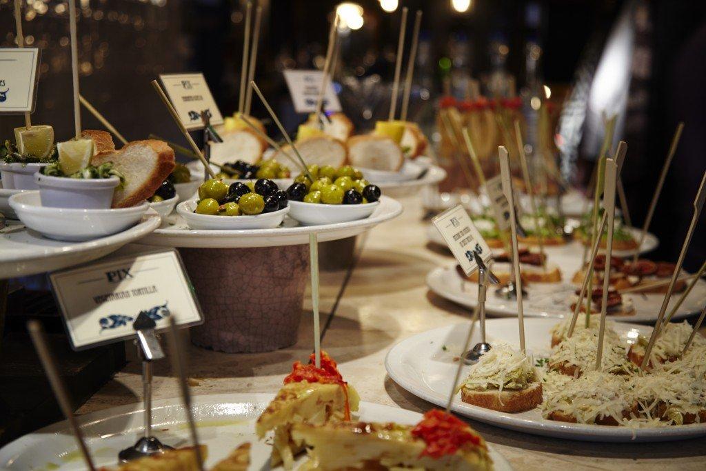 London Soho food tour Pinxos