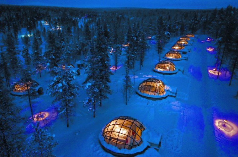 Must See: Insane Views Of The Northern Lights From Glass Igloos In Finland