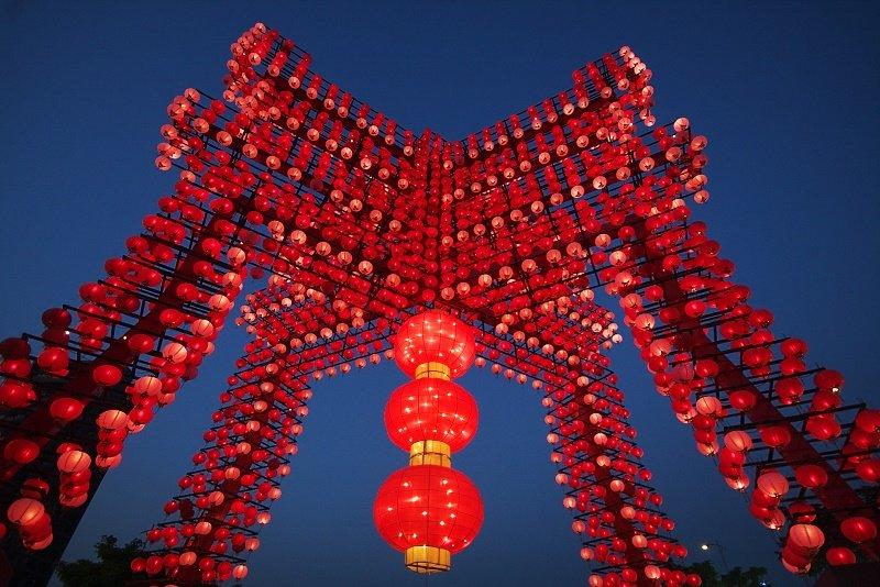 Taiwan Lantern Festival 2013. Photo: Mark Kao via Flickr
