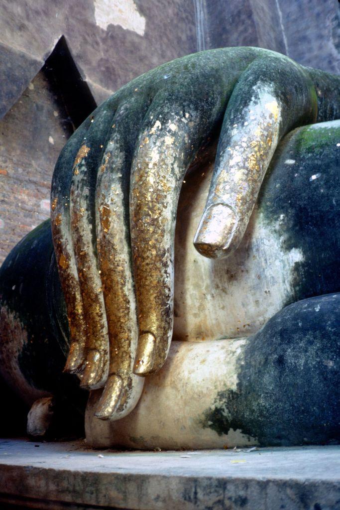 Buddha in Sukothai, Thailand