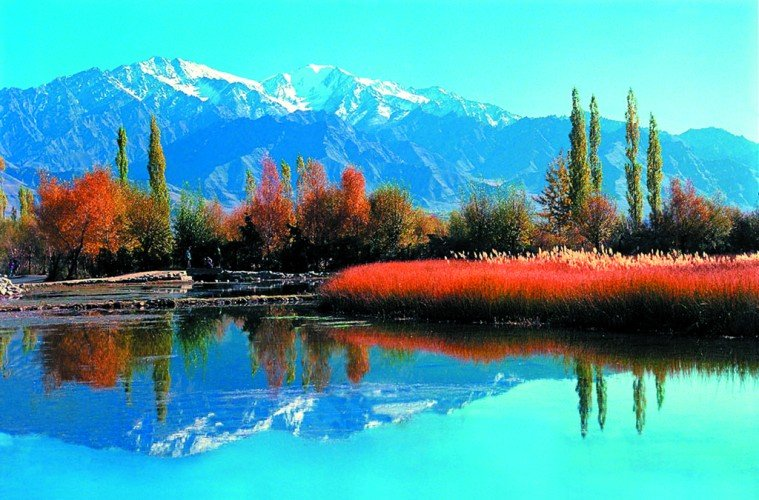 Most beautiful lakes in the Himalayas, India