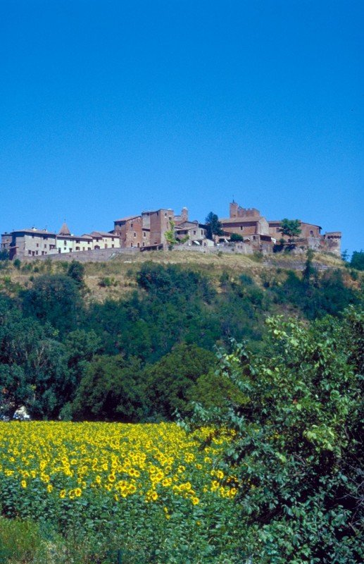 Soak in the hill top views in Certaldo