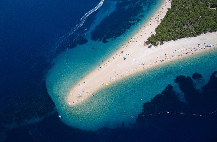 Bol is the most photographed beach in Croatia. Croatia islands