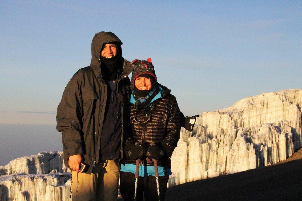 Frank & Cathy Glacier RoarLoud