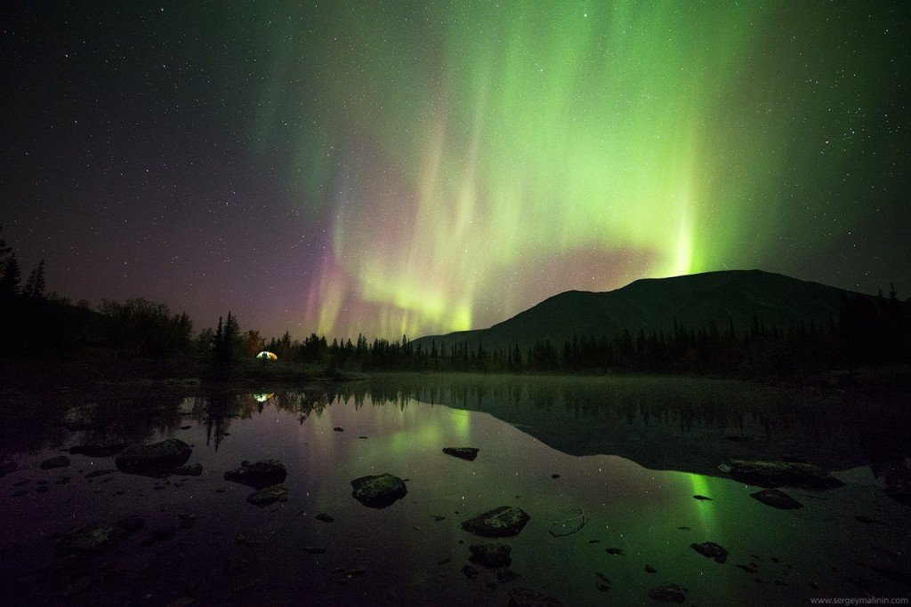Russia See The Northern Lights From The Edge Of The World
