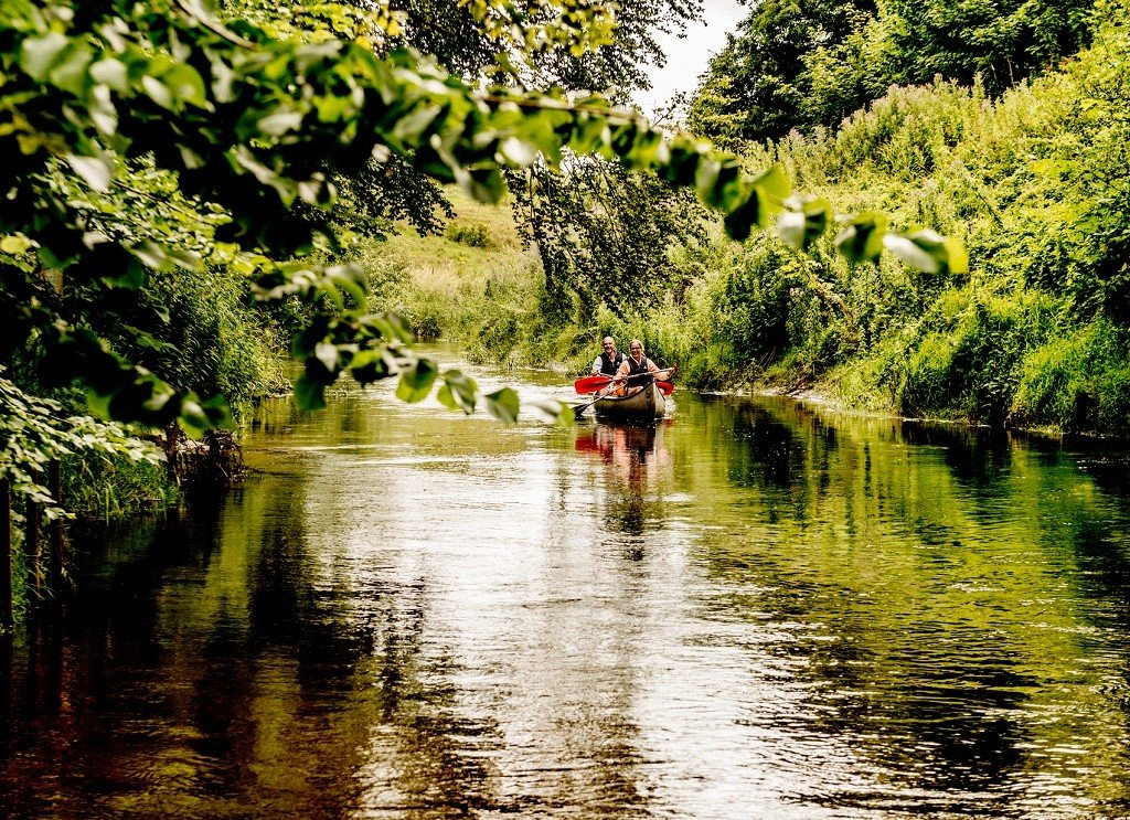 kayaking in eco-friendly Denmark Photo: Kano Mette Johnsen/ Visit Denmark