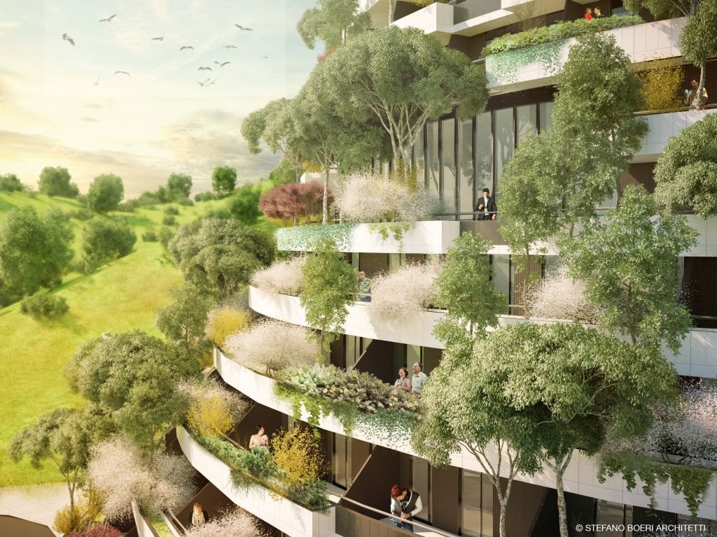 Guizhou- Vertical Forest Hotel - 1024 x 768