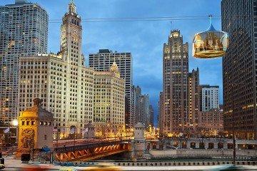 chicago gondola