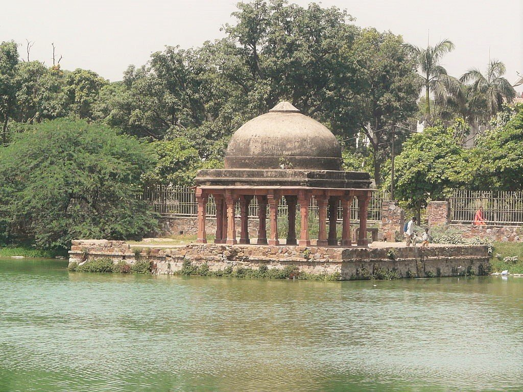 Hauz e Shamsi pavilion. Photo: Varun Shiv Kapur via Flickr