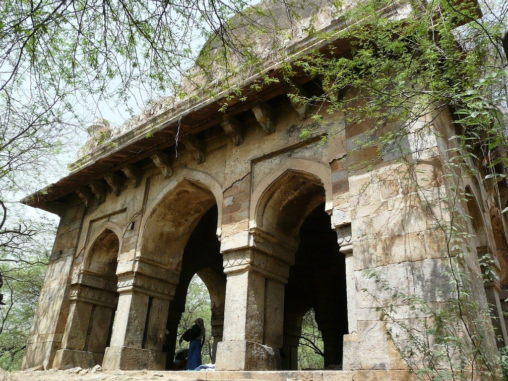 Mehrauli Archaeological Garden. Photo: Varun Shiv Kapur via Flickr