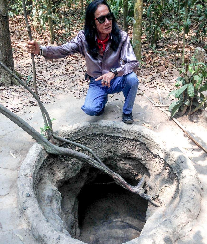 Cu Chi Tunnels Saigon Vietnam