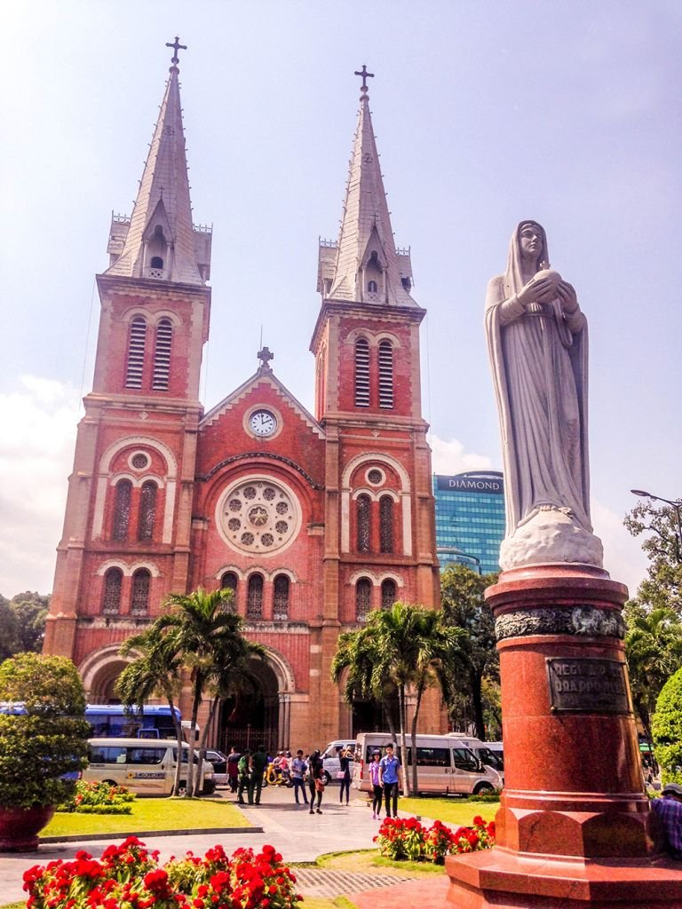 The Notre-Dame Cathedral Saigon