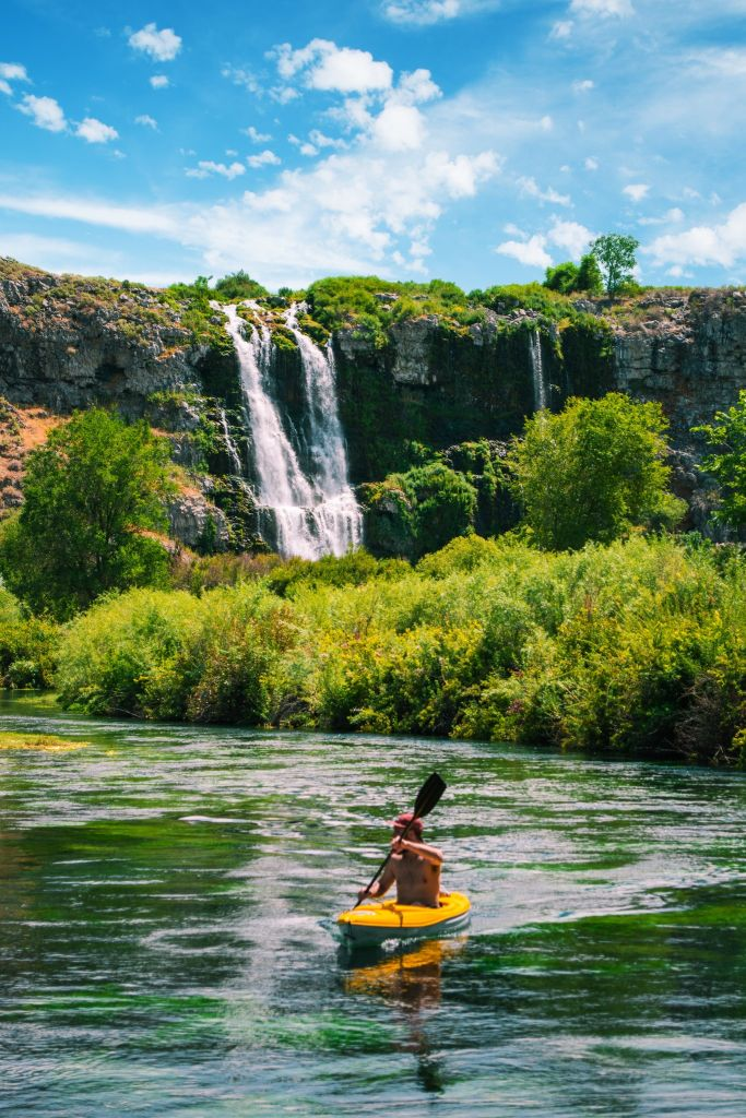 Thousand Springs kayaking - Photo