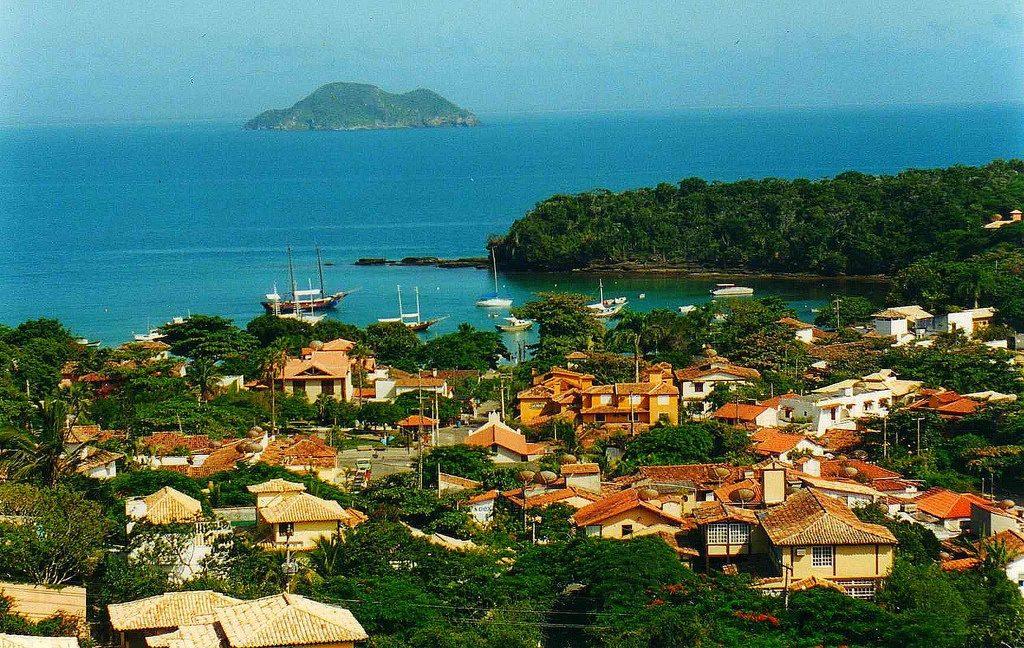 seaside resort Búzios in Brazil