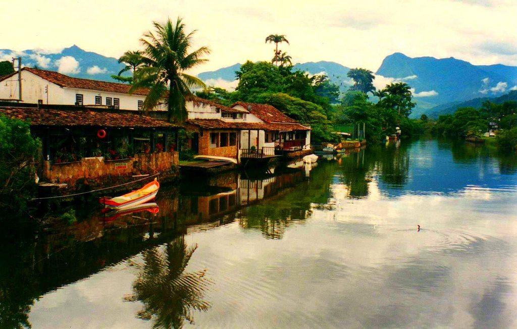 Paraty - a day trip from Rio, Brazil