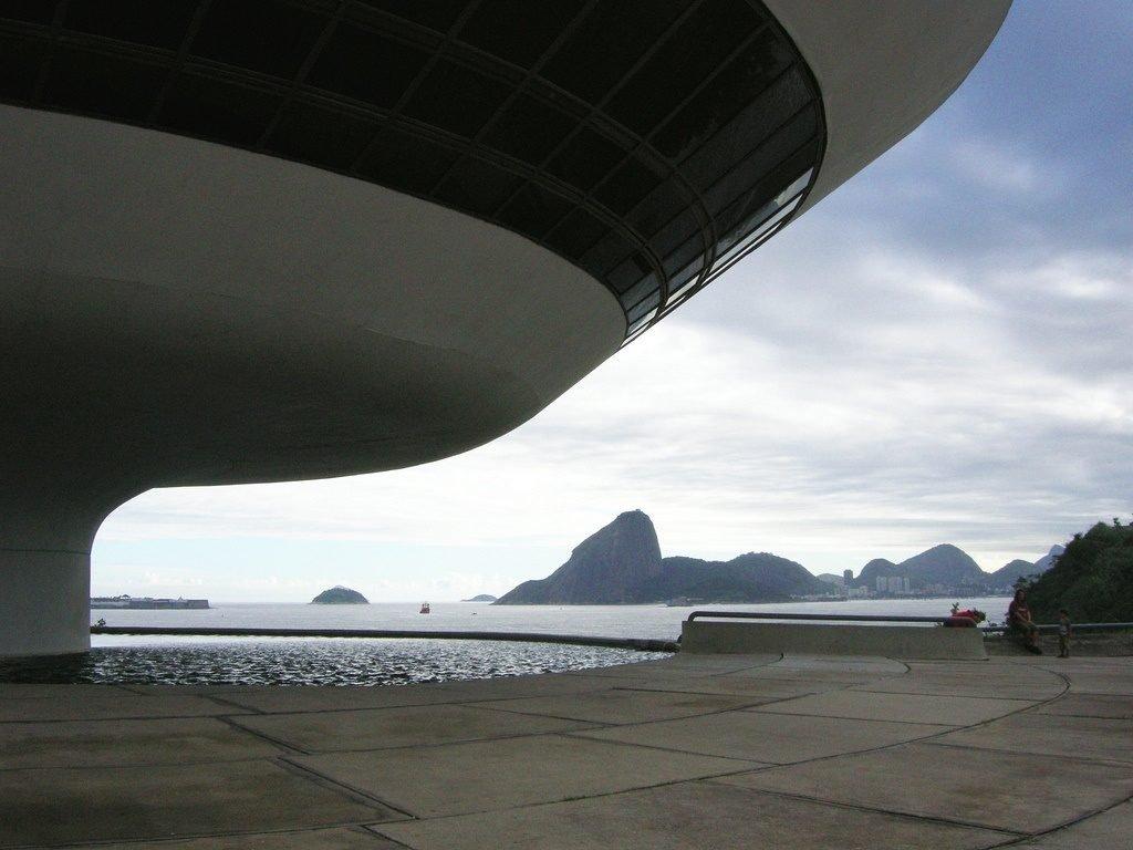 Museum of Contemporary Art, Niterói by Oscar Niemeyer, Brazil