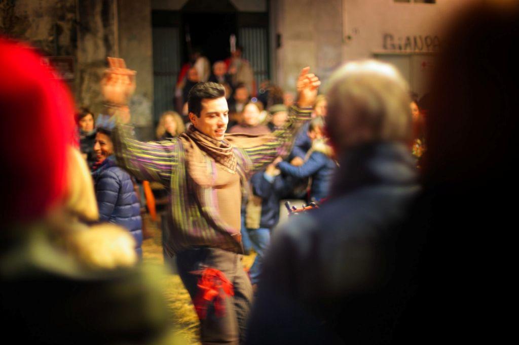 Tarantella Dancing in Naples