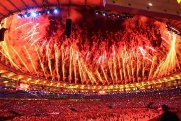 Rio Olympics Opening Ceremony. Photo: bbc.co.uk