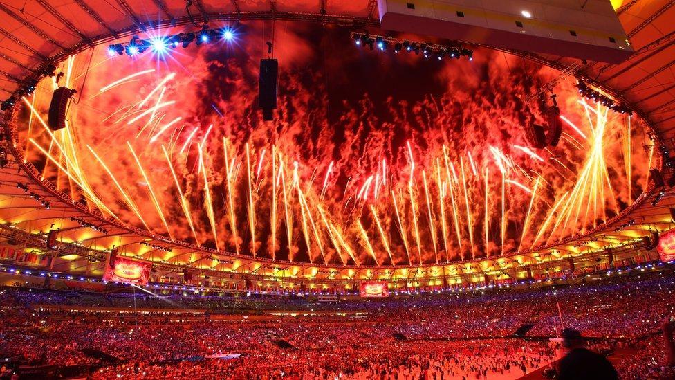 Rio Olympics Opening Ceremony. Photo: bbc.co.uk