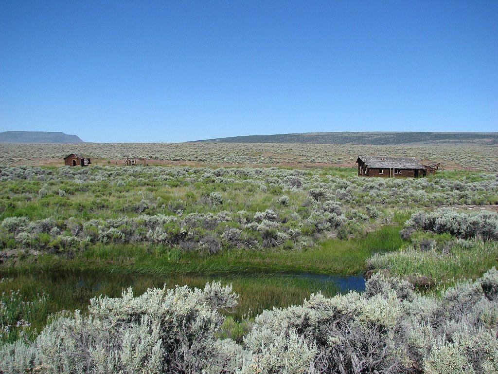 Anna Flook Homestead at Hart Mountain National Antelope Refuge. Photo: USFWS via Flickr