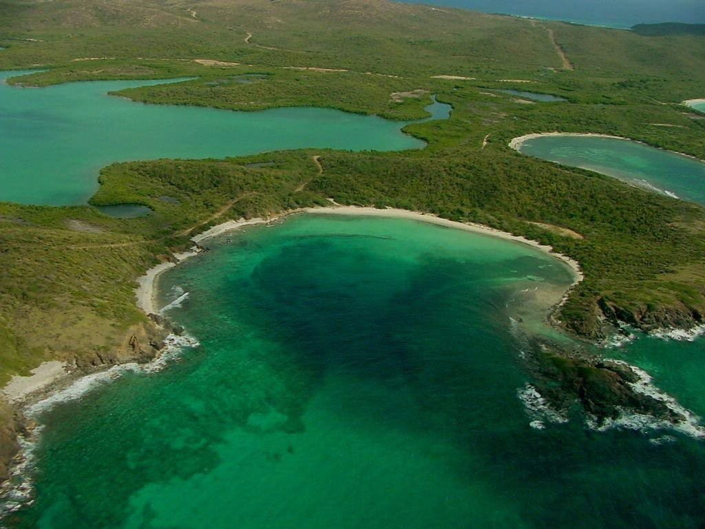 The secluded and undeveloped beaches of Vieques National Wildlife Refuge off the coast of Puerto Rico have been called some of the most beautiful in the world. (Maritza Vargas, USFWS)