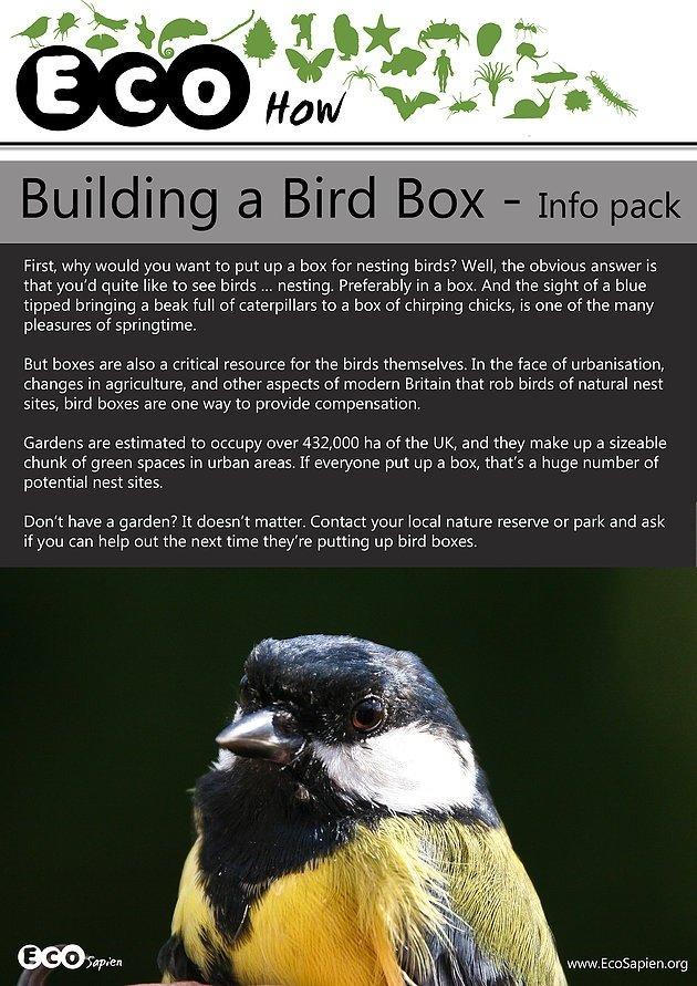Eco sapien birdbox