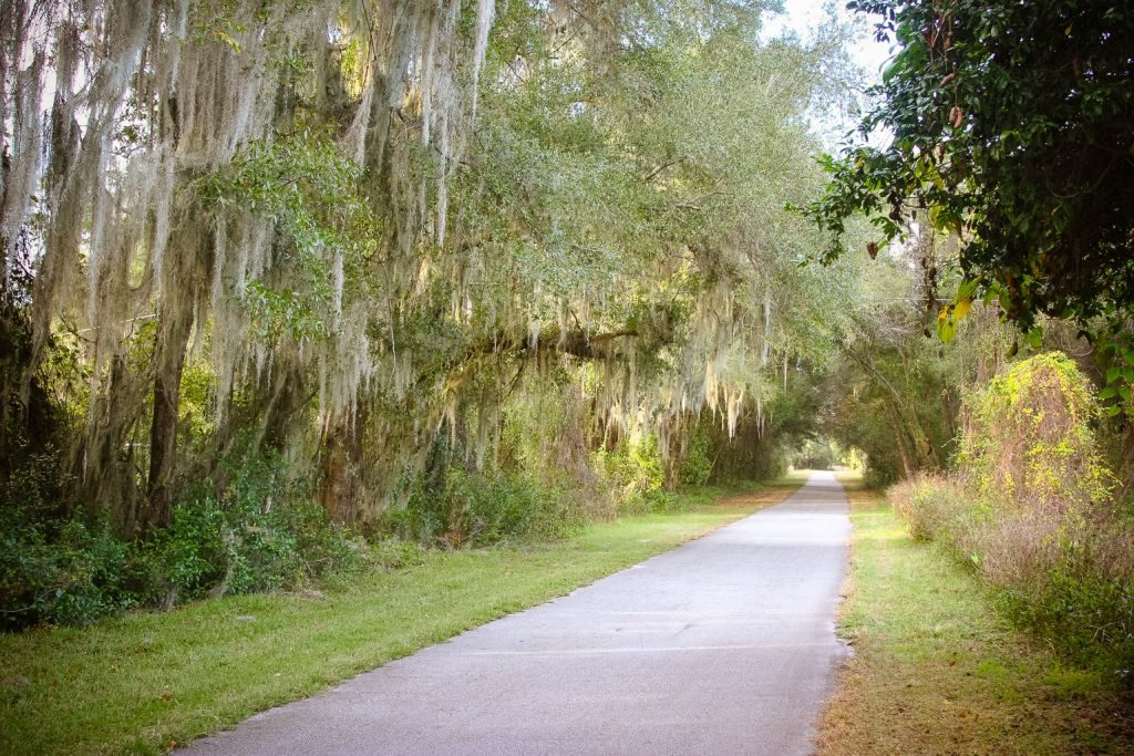 Cycling, walking, or horseback riding the historic Withlacoochee State Trail is a pleasure since no motorized vehicles are allowed